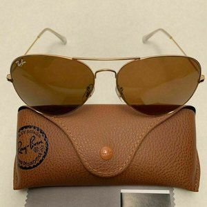 🦋Ray-Ban Sunglasses RB3026 Gold Frame Brown Lens